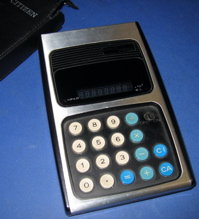 Citizen 800 XL Calculator