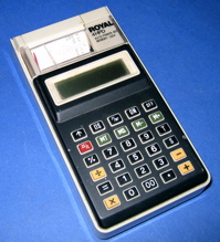 Royal 4 HPD thermal printing calculator